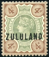 Zululand 4d green and brown