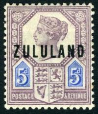Zululand 5d Jubilee