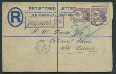 Cover to St. Lucia