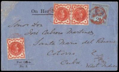 Cover to Cuba