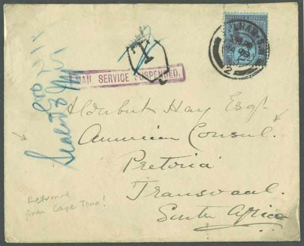 Transvaal Destination Mail