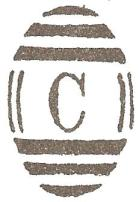 Constantinople C Barred Oval