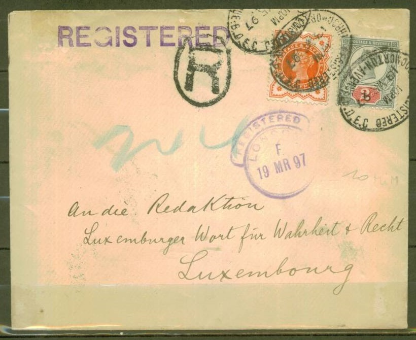 Cover to Luxembourg