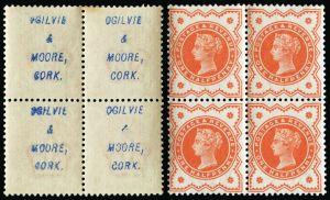 Ogilvie & Moore. Cork underprint