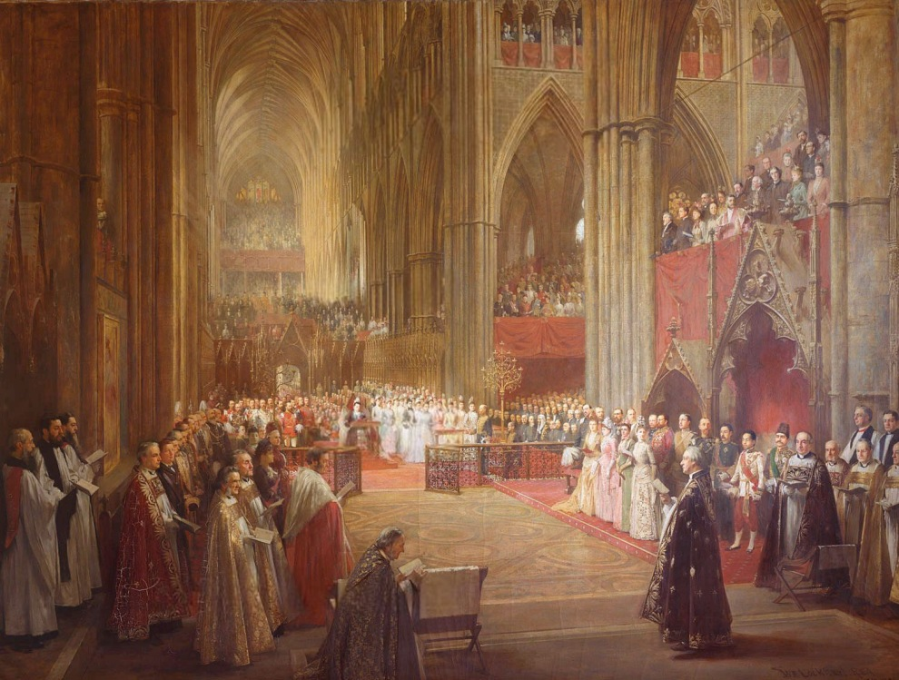 William Ewart Lockhart, Queen Victoria's Golden Jubilee Service, Westminster Abbey, 21 June 1887 (1887–1890)