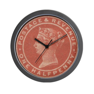 1-2d vermilion clock