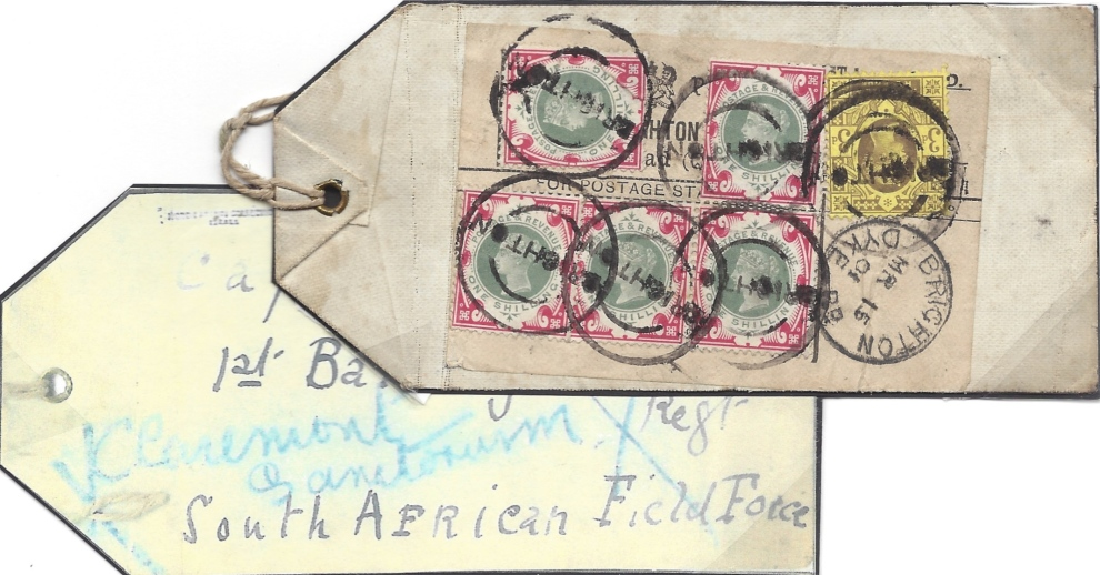 sg214-1s-green-and-carmine-on-parcel-label
