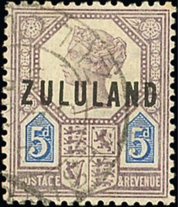 Zululand 5d with inverted watermark