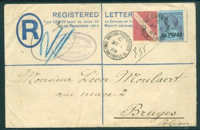 British Levant Orient Express Label