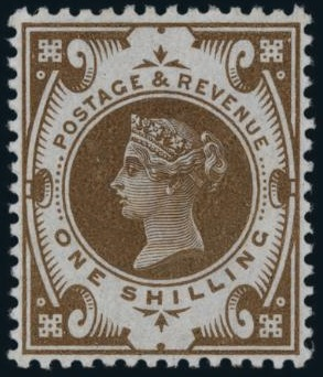 1s Jubilee colour trial in brown