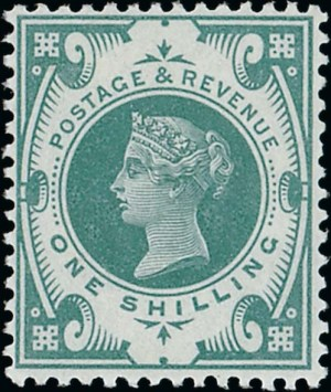1s Jubilee colour trial in emerald