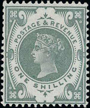 1s Jubilee colour trial in grey-green