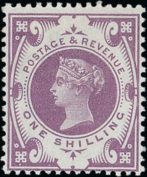 1s Jubilee colour trial in mauve