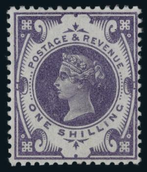1s Jubilee colour trial in violet
