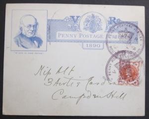 Penny Postage Jubilee insert card