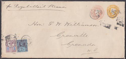 Destination mail to Grenada