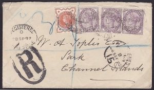 1897 Cover to Sark 44.00
