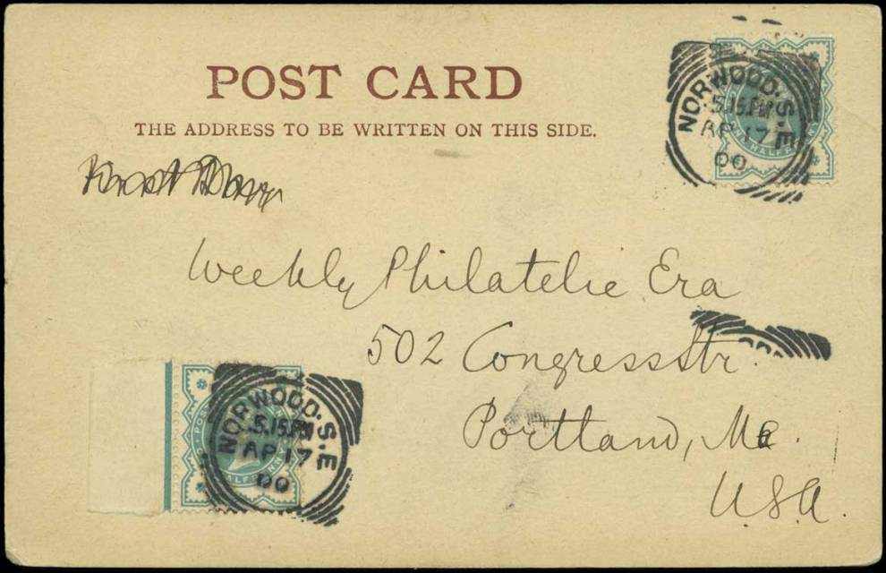 1900 1-2d green Jubilee first day cover
