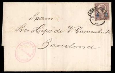 Jan 1 1887 5d Jubilee First Day Cover