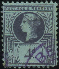 4d-forgery-of-the-2-5d-jubilee-stamp-with-belfast-cancel